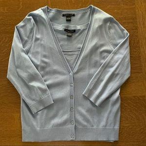 August Silk Twin Sweater Set